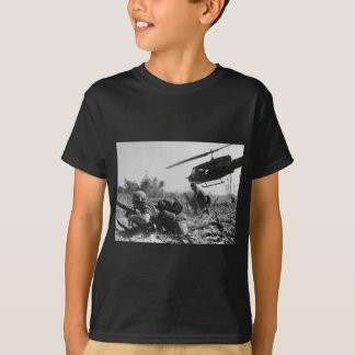 Major Crandall's UH-1D Helicopter in Vietnam War Tee Shirts