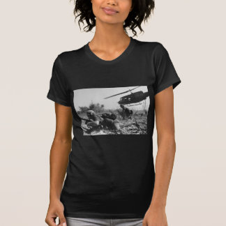 Major Crandall's UH-1D Helicopter in Vietnam War T-shirts
