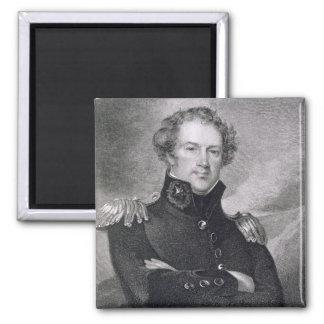 Major General Alexander Macomb (1782-1842), engrav Magnet