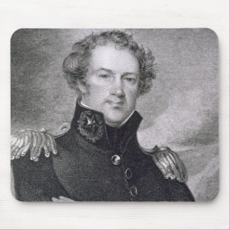 Major General Alexander Macomb (1782-1842), engrav Mouse Mat