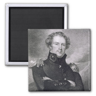 Major General Alexander Macomb (1782-1842), engrav Square Magnet