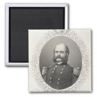 Major General Ambrose Everett Burnside Square Magnet