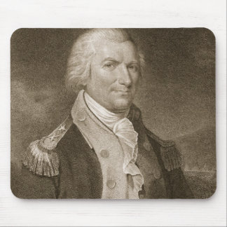Major General Arthur St. Clair, engraved by Edward Mouse Pad