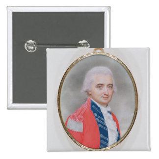 Major General Sir Barry Close (d.1813) 1794 (w/c a 15 Cm Square Badge