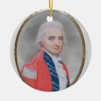 Major General Sir Barry Close (d.1813) 1794 (w/c a Christmas Ornament