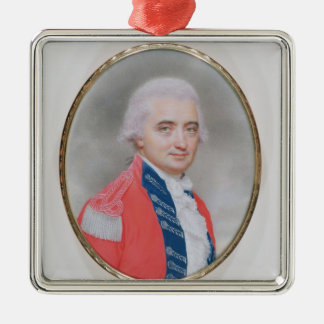 Major General Sir Barry Close (d.1813) 1794 (w/c a Silver-Colored Square Decoration