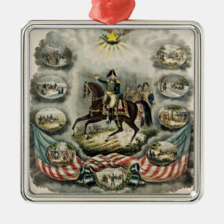 Major General William Henry Harrison, c.1813 Christmas Ornament