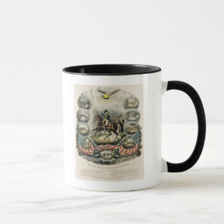 Major General William Henry Harrison, c.1813 Mug