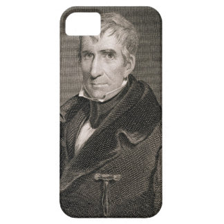 Major General William Henry Harrison, engraved by Barely There iPhone 5 Case
