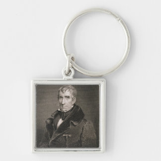 Major General William Henry Harrison, engraved by Key Ring