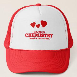 MAJOR IN CHEMISTRY - IMAGINE THE REACTION TRUCKER HAT