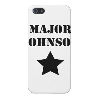 Major Johnson iPhone 5 Cover