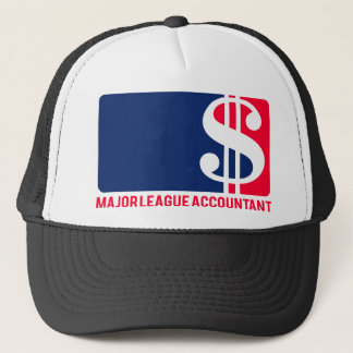 Major League Accountant Trucker Hat