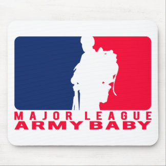 Major League Army Baby Mouse Pad