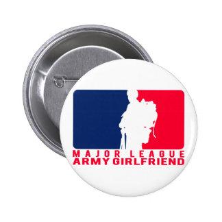 Major League Army Girlfriend 6 Cm Round Badge