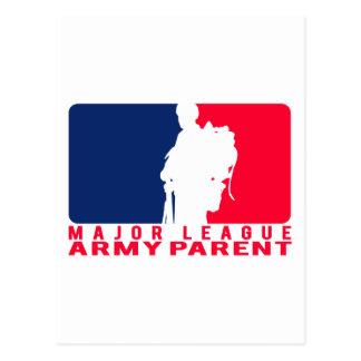 Major League Army Parent Postcard