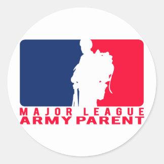 Major League Army Parent Sticker