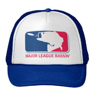 Major League Bassin Largemouth Bass Angler Cap