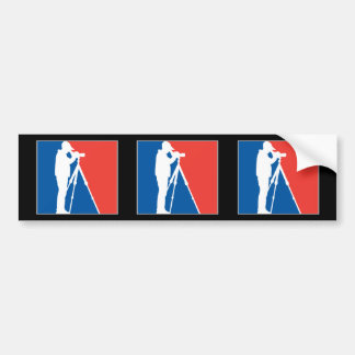 Major League Birder Bumper Sticker
