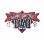 Major League Dad Postcard