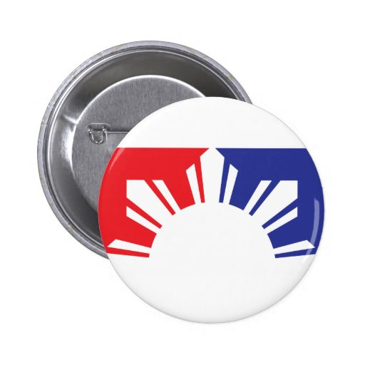 Major League Filipino Flag - Half Pins