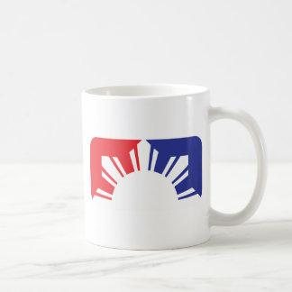 Major League Filipino Flag - Half Basic White Mug