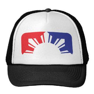 Major League Filipino Flag - Half Cap