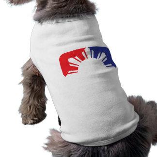 Major League Filipino Flag - Half Pet Tee