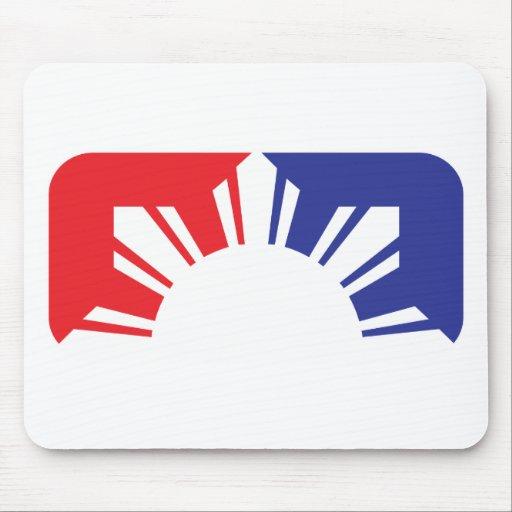 Major League Filipino Flag - Half Mousepad
