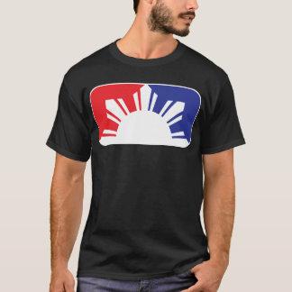 Major League Filipino Flag - Half T-Shirt