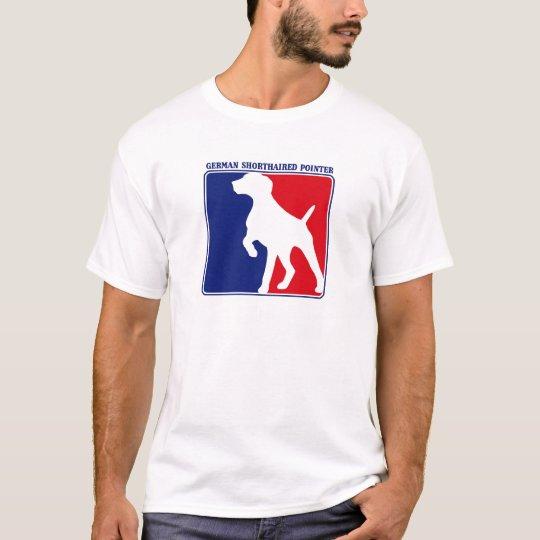 Major League German Shorthaired Pointer t-shirt