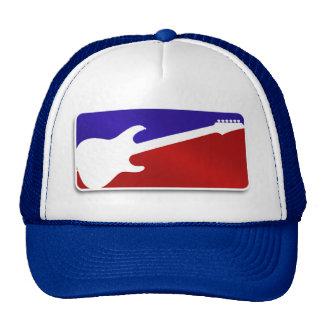 Major League Guitar Logo Rock Hero Hat