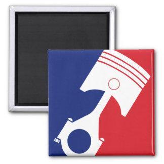 Major League Motor Fridge Magnets