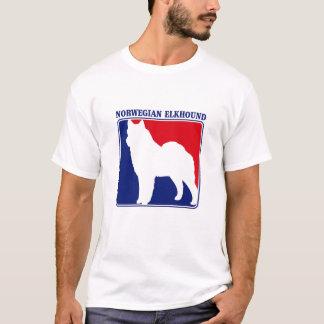 Major League Norwegian Elkhound t-shirt