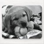 Major League Puppy mousepad