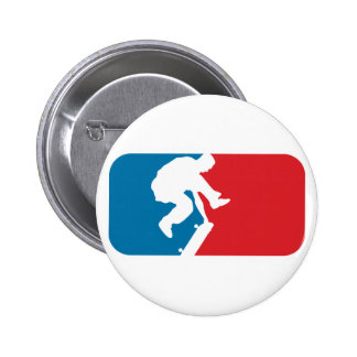 Major League Skater 6 Cm Round Badge