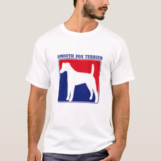 Major League Smooth Fox Terrier t-shirt