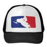 Major League Snowmobiler Trucker Hat