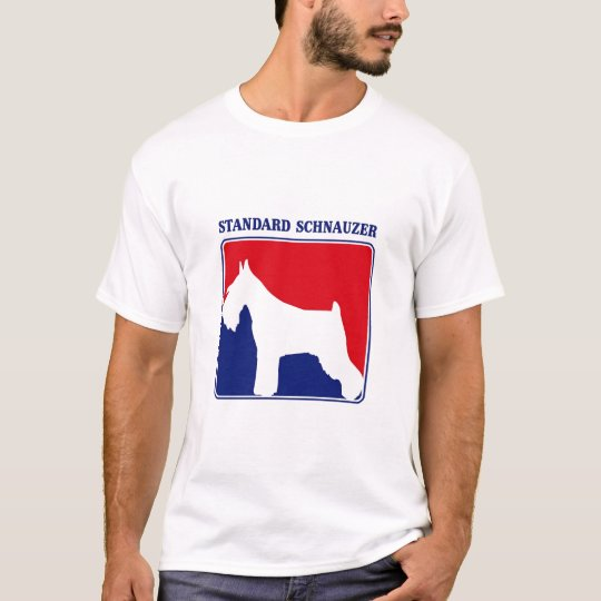 Major League Standard Schnauzer t-shirt