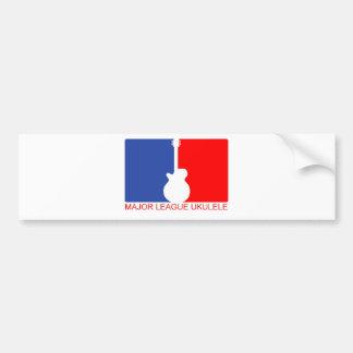 Major League Ukulele Bumper Sticker