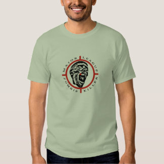 Major League Zombie Killer T Shirt