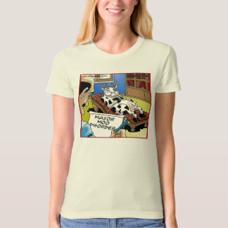 Major Moo Disorder Funny Cow Therapy Gifts & Tees