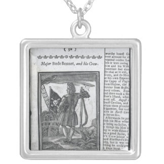 Major Stepe Bonnet, from 'Histories and Lives Silver Plated Necklace