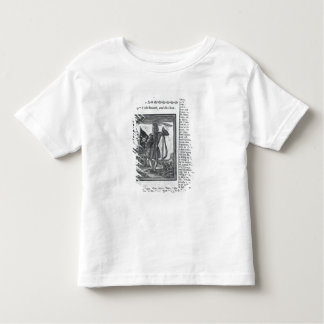 Major Stepe Bonnet, from 'Histories and Lives Toddler T-Shirt