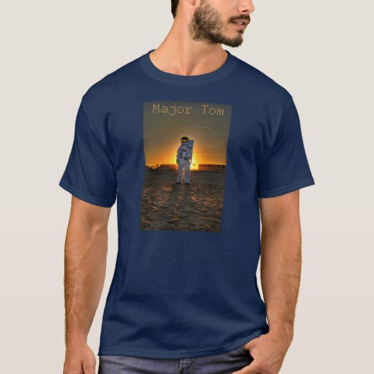 Major Tom Astronaut T-Shirt