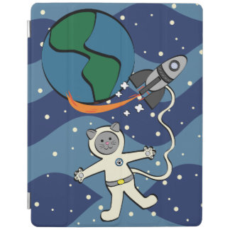 Major Tom Cat iPad Cover