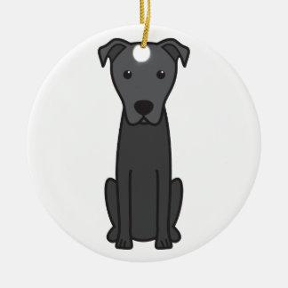 Majorca Shepherd Dog Cartoon Christmas Ornaments