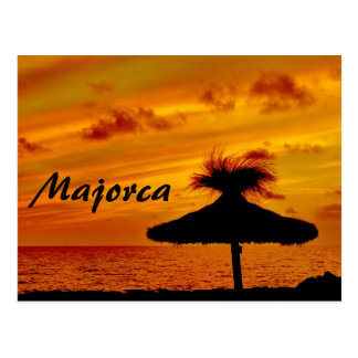 Majorca Sunset - Postcard