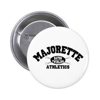 Majorette Athletics 6 Cm Round Badge