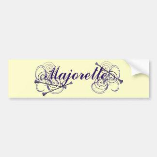 Majorette Bumper Stickers